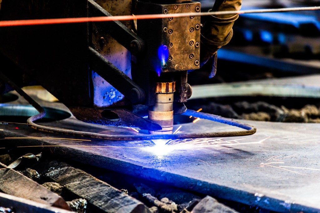 What is plasma cutting and how does it work?