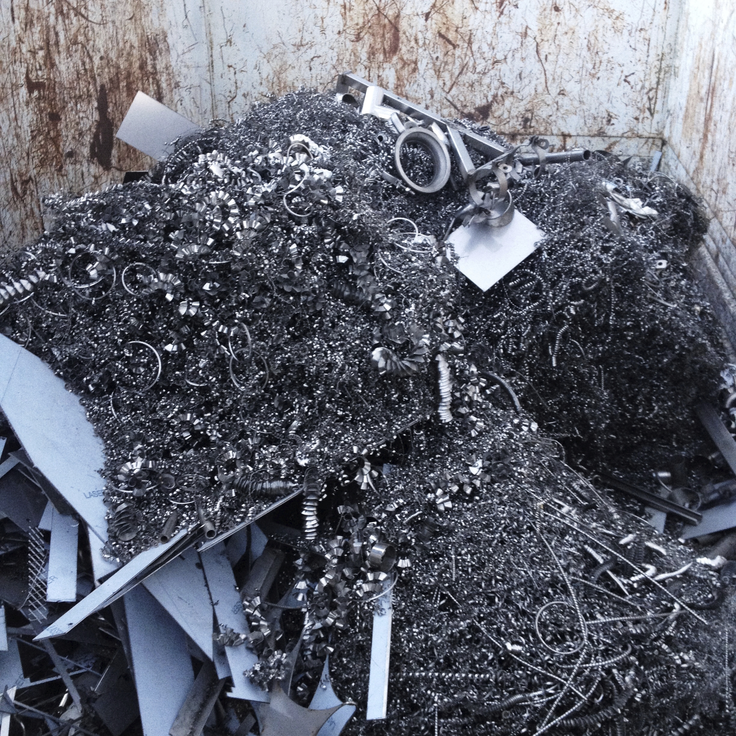 Recycling in the steel industry