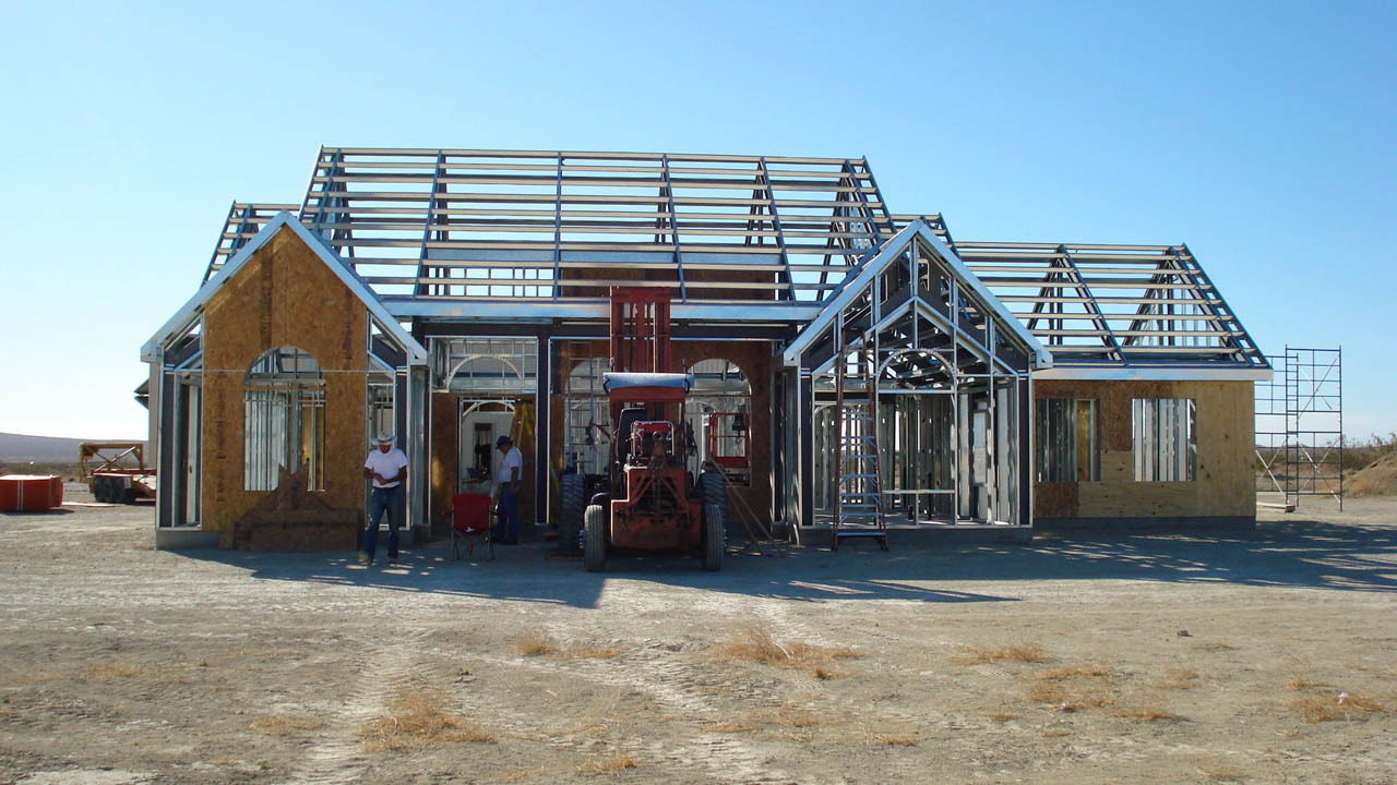 Pros & Cons of Using Steel Residential Structures Steel Frame Homes Near Me