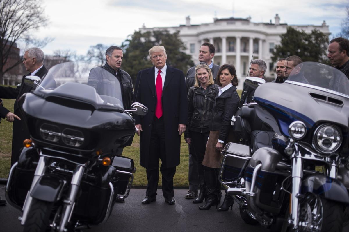 Harley-Davidson not having an easy ride