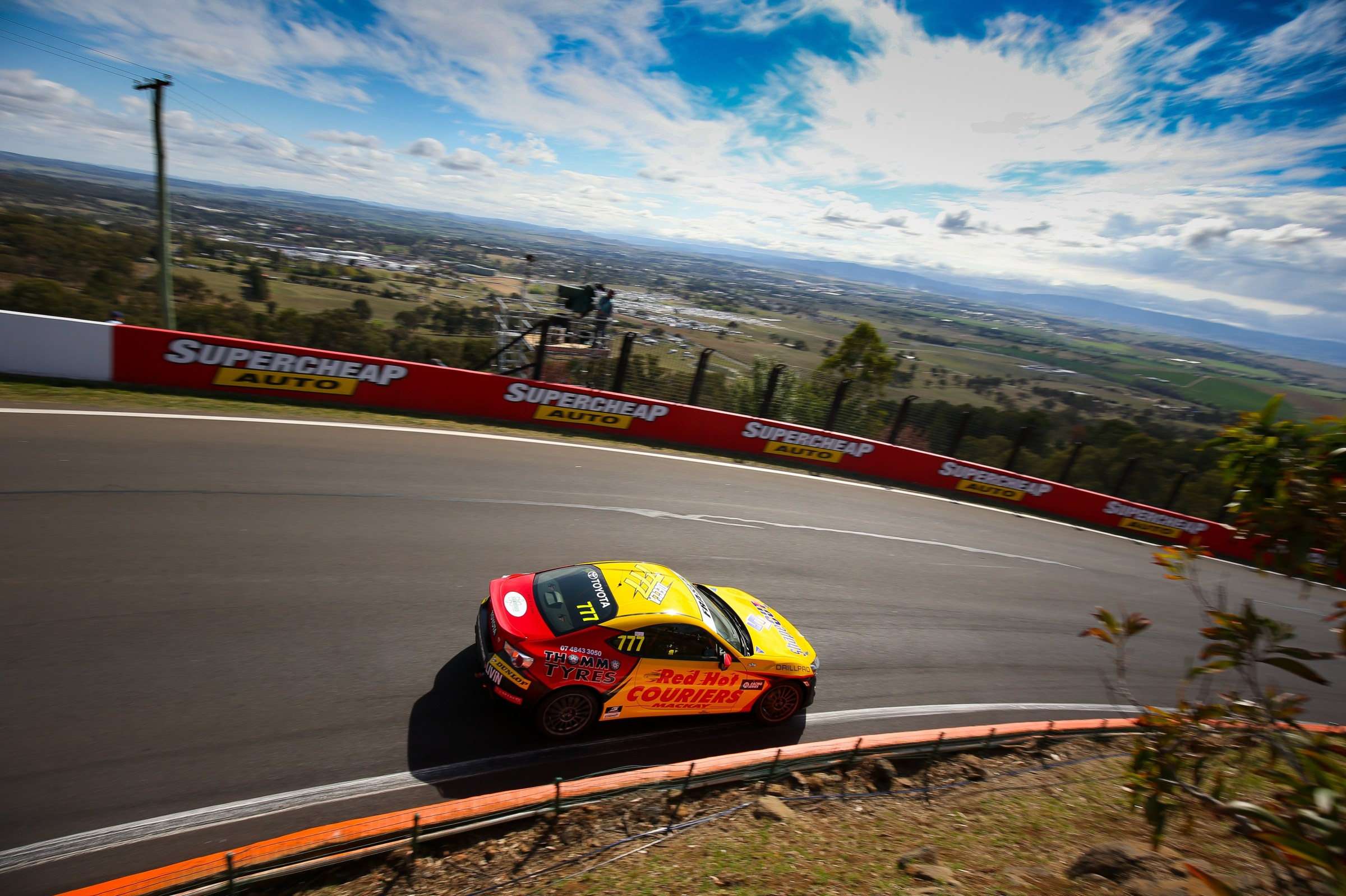 Thrills Abound for Declan Fraser on Mount Panorama